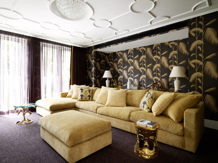 46 best Versace Style images on Pinterest Home ideas, Living room