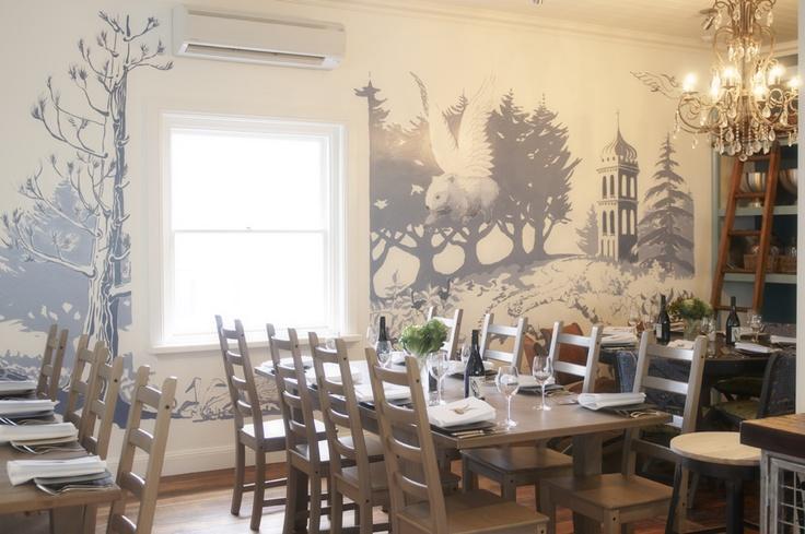 Wombat Hill House cafe in Daylesford.   www.wombathillhouse.com.au