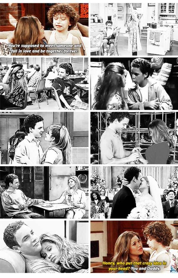Boy Meets World and Girl Meets World - The love story of Cory and Topanga