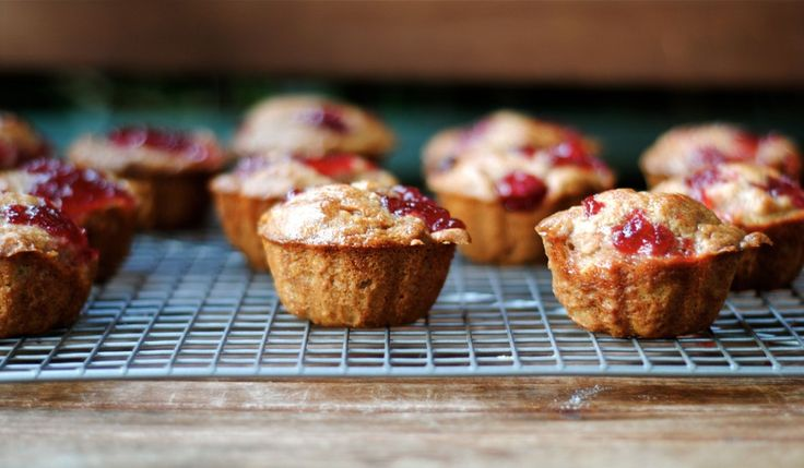 CRANBERRY SAUCE MUFFINS   via @chefdennis from Fat Girl Trapped in a Skinny Body!