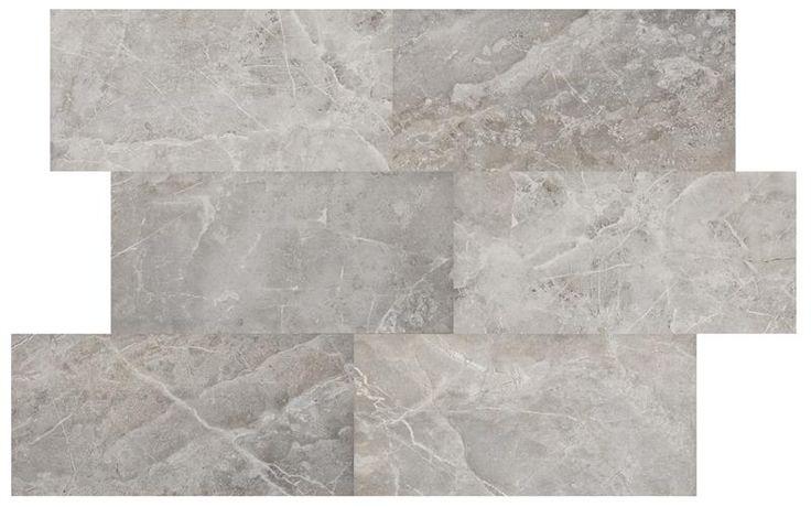 Variationsbild M Grey Fleury Honed Inspirerad av den Toskanska marmorn Fiore di Bosco, med granitkeramikens alla praktiska fördelar och en yta som liknar en slipad marmor.