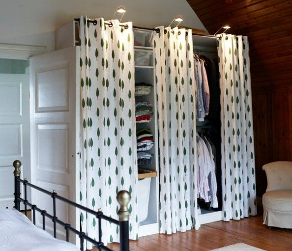 My bedroom needs more clothes storage  I thinking something like this but  with a curtain. 28 best IQL Bedroom storage images on Pinterest   Bedroom storage