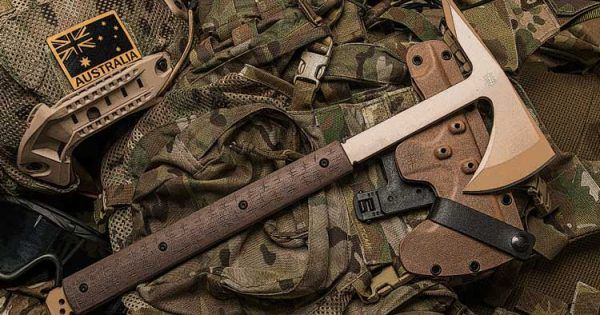 Our Tactical Tomahawk is designed for a multitude of applications dependant on situational requirements and is designed for the extreme end of hardcore use as an impact/MOE tool. The spike at the business end of things has a modified tanto point specifically designed for maximum penetration...