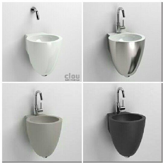 (Welbie Sanitair) CLOU Flush fontein, mooi, chique, tijdloos en toch trendy. Verkrijgbaar in verschillende kleuren en materialen o.a. keramiek, beton, natuursteen en keramiek met platina. Meer te vinden op www.welbie.nl