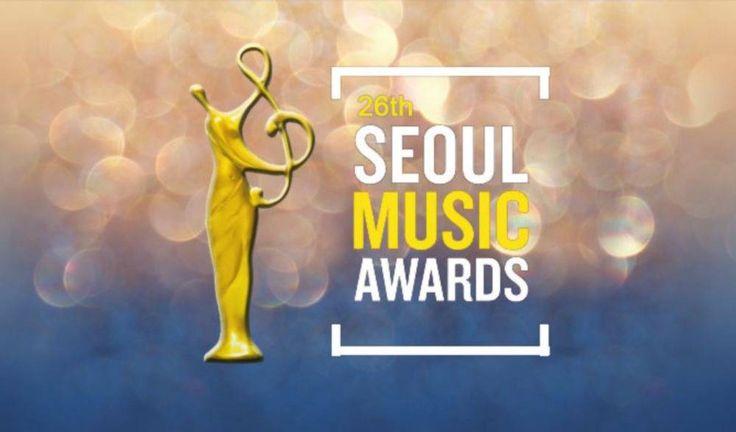 Winners of '26th Seoul Music Awards'!