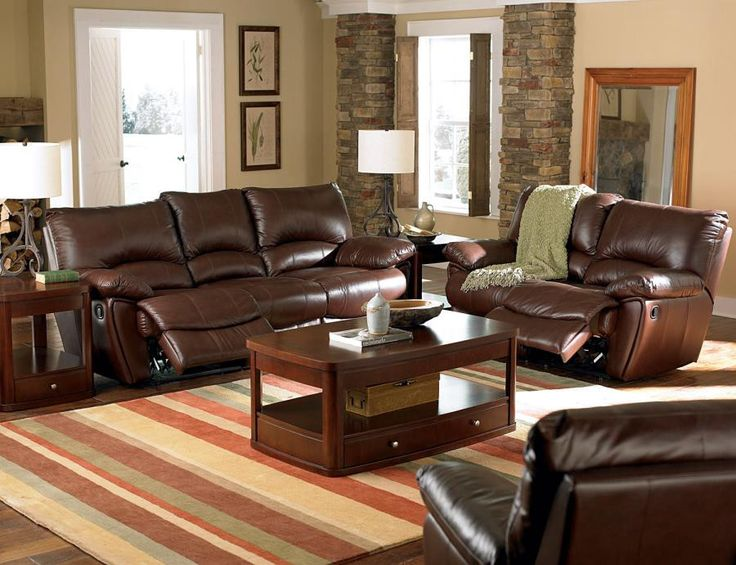 Best 25+ Leather reclining sofa ideas on Pinterest | Industrial ...