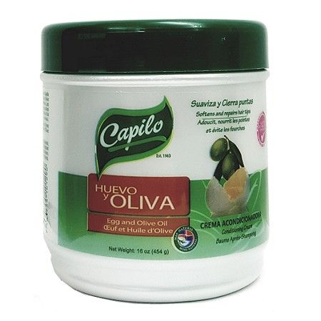 Capilo Egg and Olive Oil (Huevo y Oliva) Conditioning Cream 16 oz $7.19 Visit www.BarberSalon.com One stop shopping for Professional Barber Supplies, Salon Supplies, Hair & Wigs, Professional Product. GUARANTEE LOW PRICES!!! #barbersupply #barbersupplies #salonsupply #salonsupplies #beautysupply #beautysupplies #barber #salon #hair #wig #deals #sales #Capilo #Egg #OliveOil #HuevoyOliva #Conditioning #Cream