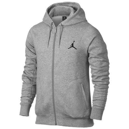 Nike Jordan Full Zip 23/7 Hoodie Mens Grey [547664-063] Sweatshirts Sz XL New #JORDAN #HoodiesSweatshirts