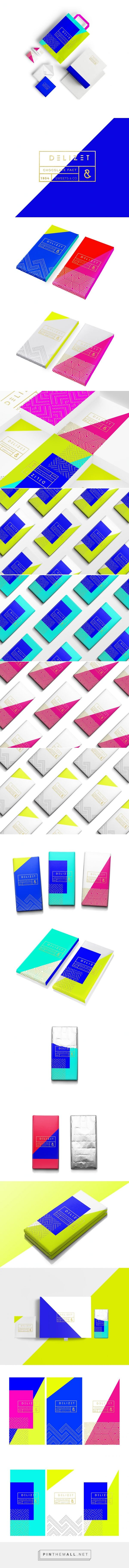 DELIZET CHOCOLAT FACT #chocolate #packaging by Marina Porté…