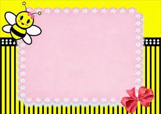 Baby Bee Free Printable Mini Kit.