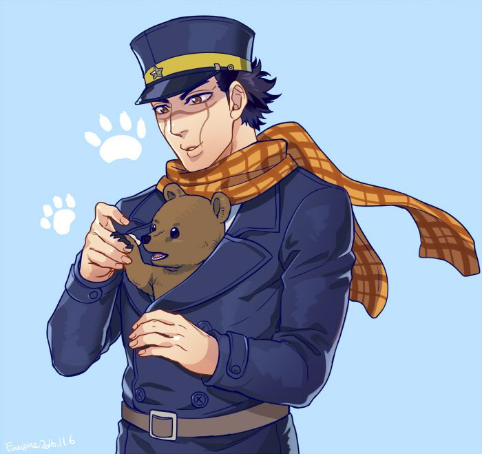 Golden Kamuy Sugimoto Saichi Anime Anime Images Anime Boy Images, Photos, Reviews