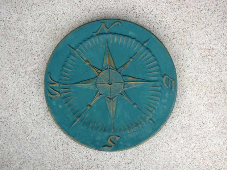 Details About 3 1 Free 18x2 Garden Compass Stepping Stone