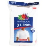 Fruit of the Loom Men's Crewneck Tee 3 Pack (Apparel)By Fruit of the Loom