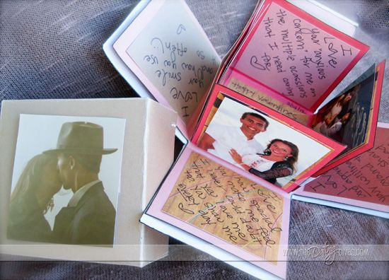 """so cute. Its called an """"exploding love box"""". I am so making this for somebody one of these days."""