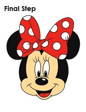 Drawing Mini Mouse - Tutorial