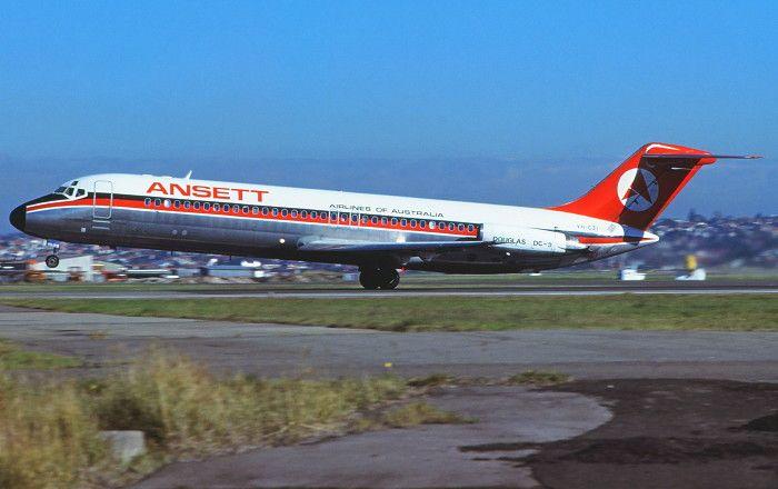 ANSETT DC-9-31 (VH-CZI)