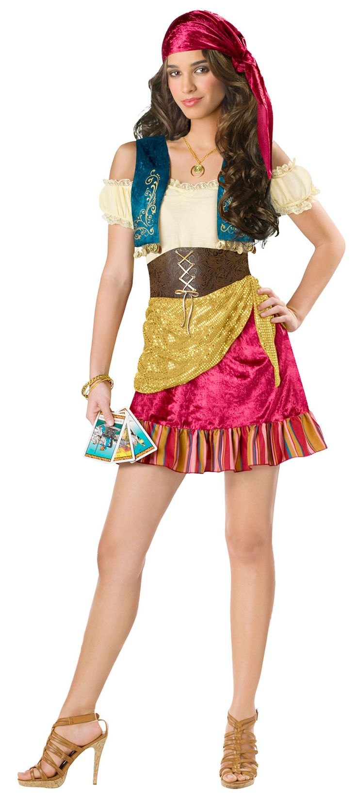 Teen Gypsy Costume | Costume Craze