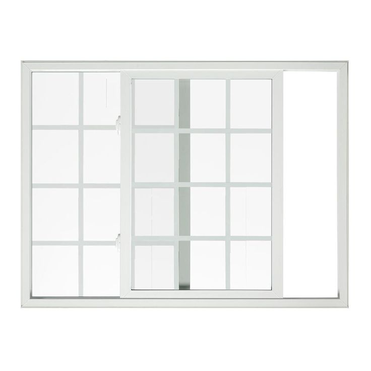 Sierra Horizontal Sliding Vinyl Window 72 In White With Lowe Gl Grille And Screen Sld Grid 6040 At The Home Depot