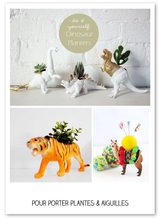 Plein d'idées à réaliser avec des animaux en plastique - from www.mespetitesmainsmagazine.net