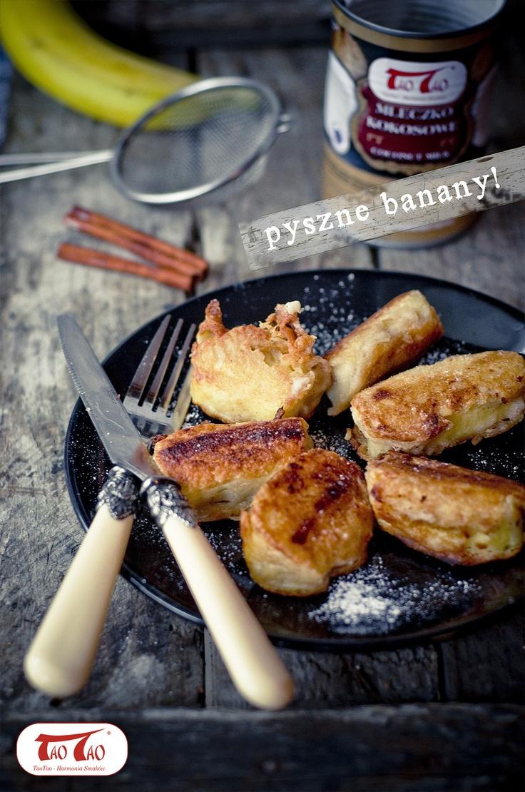 Banany w cieście naleśnikowym z mleczkiem kokosowym TaoTao http://taotao.pl/przepisy_kulinarne/t,banany/m,1/id,2265929,banany_w_ciescie_nalesnikowym_z_mleczkiem_kokosowym_taotao_taotao.html