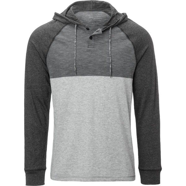 Siphon Milton Pullover Sweatshirt ($50) ❤ liked on Polyvore featuring men's fashion, men's clothing, men's hoodies and men's sweatshirts