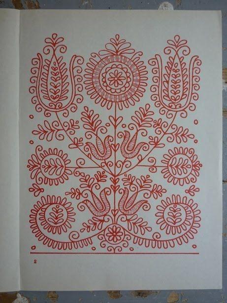 parna vintage linen and hemp: Hungarian Embroidery (2) Kalotaszeg