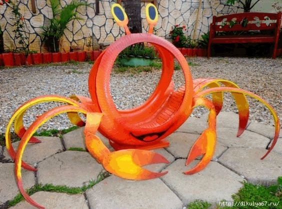 25 unique tire playground ideas on pinterest kids for Old tire art