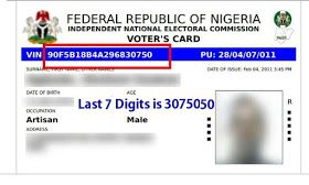How To Register/Obtain/Check Your Permanent Voters Card Status Online