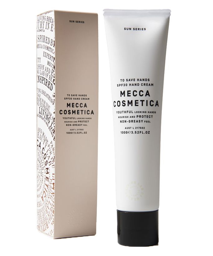 The Right SPF for EveryPartof Your Body - Mecca Cosmetica To Save Hands SPF 30  - from InStyle.com