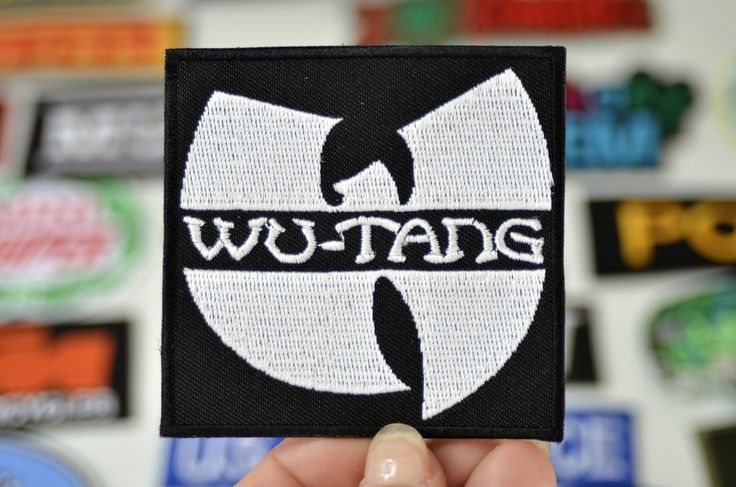 WU-TANG Hip Hop Iron on Patch