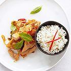 Gebakken varkensvlees met sojasaus - recept - okoko recepten