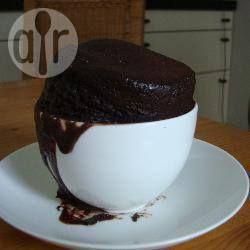 Foto recept: 5 minuten chocoladecake in een mok
