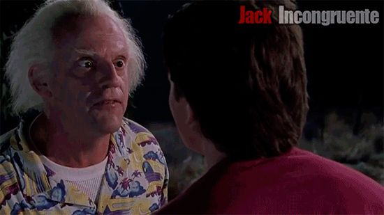 Image result for doc brown back to the future gif