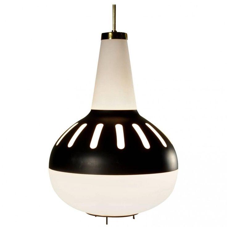 Schon Max Ingrand Hanging Lamp, 1960s