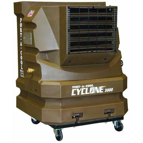 Port-A-Cool Cyclone 3000 Portable Air Cooler