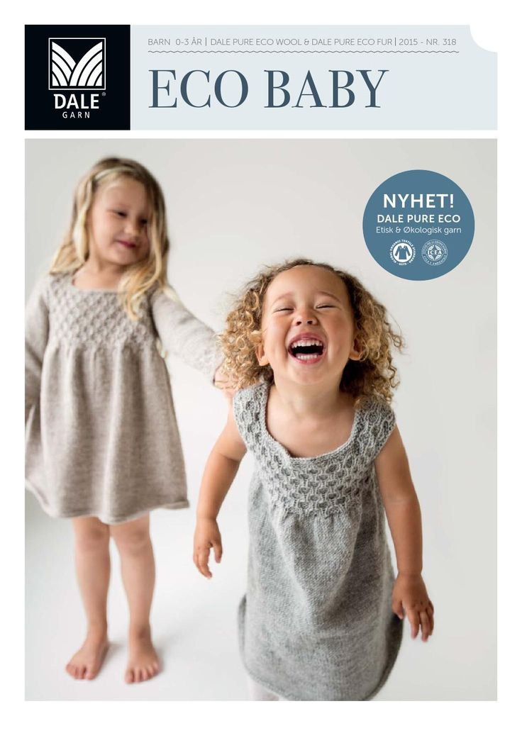 ISSUU - Dale garn 318 eco baby lookbook by Strikkehula