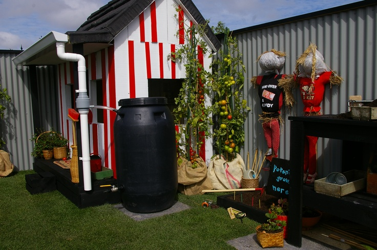 water saving was a key component in this garden aimed at using our resources in an easy and user friendly way