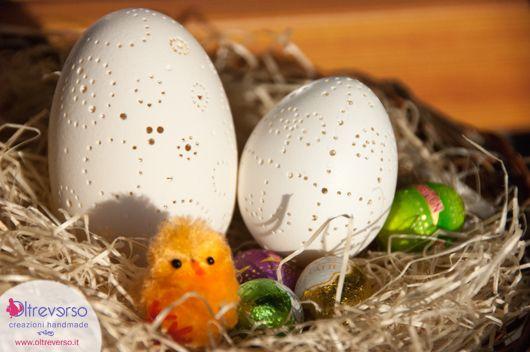 Traforare e decorare le uova d'oca per Pasqua con il trapano, idee regalo per Pasqua fai da te, decorazioni di Pasqua handmade
