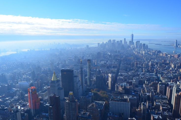 NYC ~ View from ESB