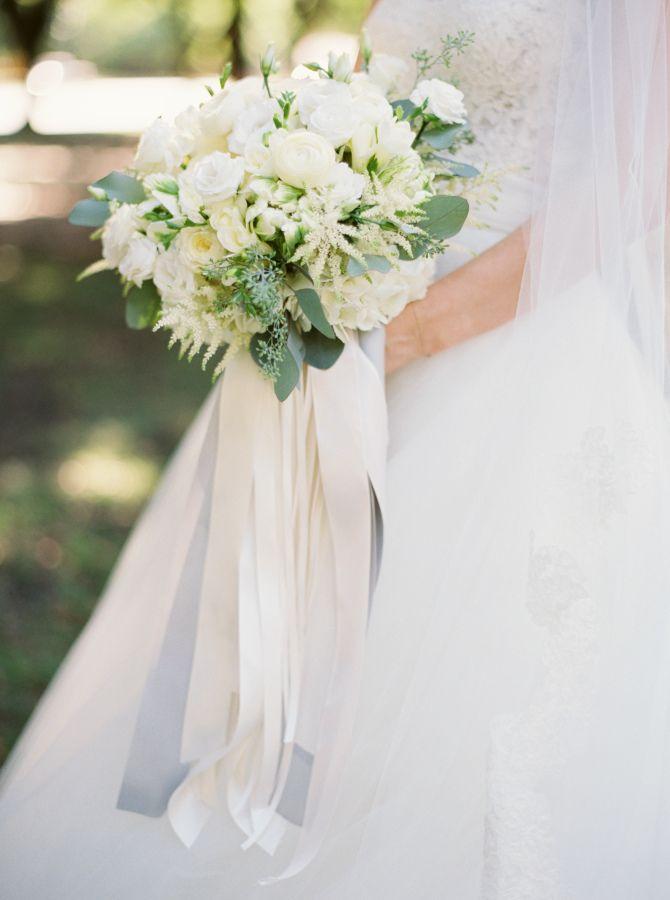 nike capri pants dri fit Classic white wedding bouquet with ribbons: http://www.stylemepretty.com/texas-weddings/dallas/2016/01/04/organic-traditionally-elegant-wedding-in-dallas/ | Photography: Heather Hawkins - http://heatherhawkinsphoto.com/