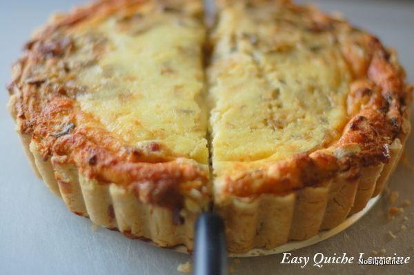 easy quiche lorraine recipe Recipe: The secret to making great quiche at home