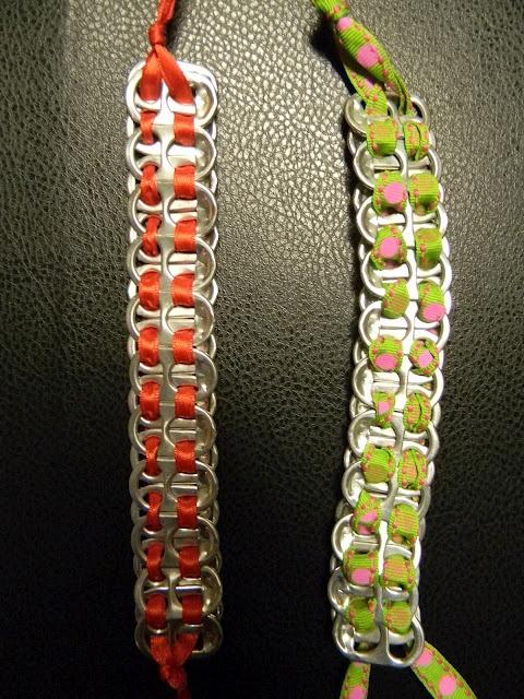 pop tab bracelet instructions