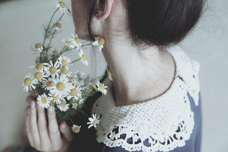 Девушка с полевыми ромашками, by AnnaO-Photography