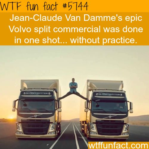 Jean-Clause Van Damme's Volvo commercial - WTF fun facts