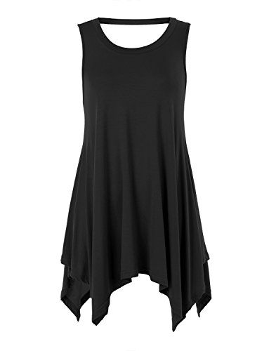 Special Offer: $9.99 amazon.com Ssyiz Women's O Neck Backless Sexy Black Short T Shirt Tank Top for women makes a superior base layer for your workout like running, gym exercise, Yoga practice, climbing, cycling, dancing and other Casual, Party, Workout, Yoga sporting activities. ...