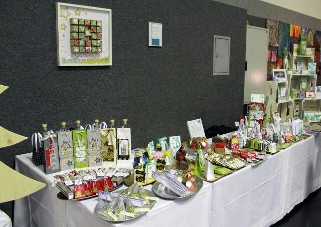 Weihnachtliche Produkte am Adventmarkt mit Stampin'UP von Aigenmade.com
