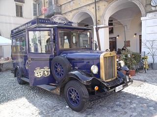 Caffarel Vintage car