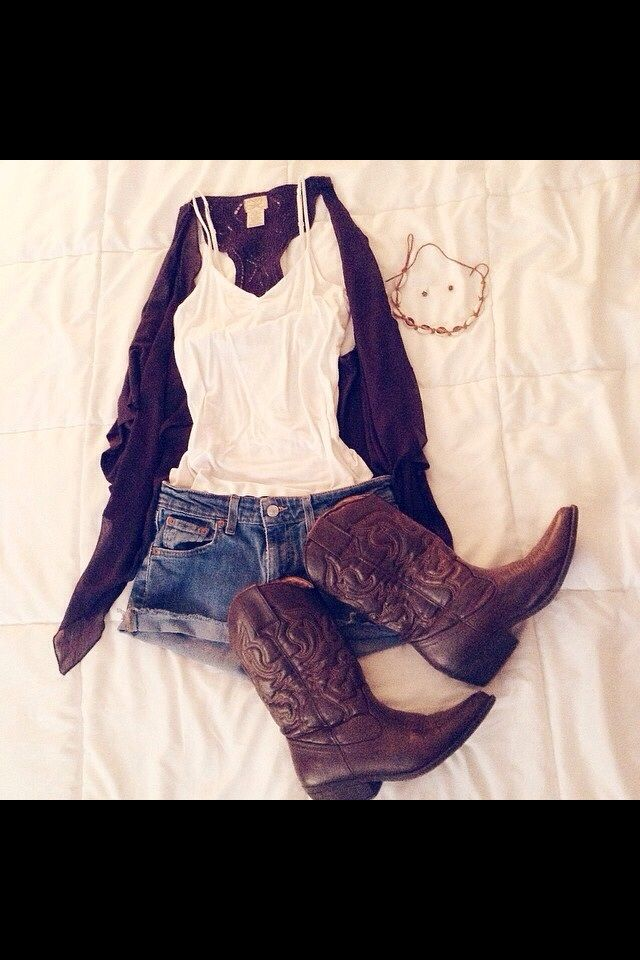 Country summer. But with different cowboy boots.