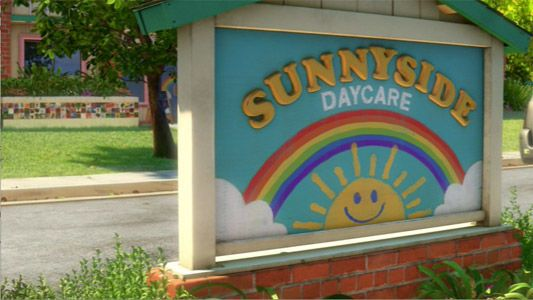 Sunnyside Daycare is a child care facility where Andy's toys get donated to in Toy Story 3...