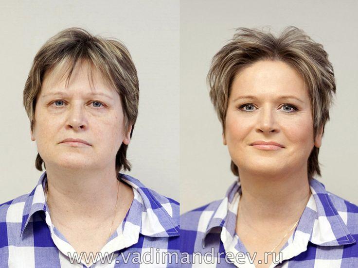 Der russische Make-up Artist Vadim Andreev dokumentiert seit Jahren seine Arbeit durch Vorher-Nachher-Bilder - krasse Veränderung durch Schminke!
